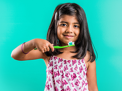 Encourage good oral health with your children!