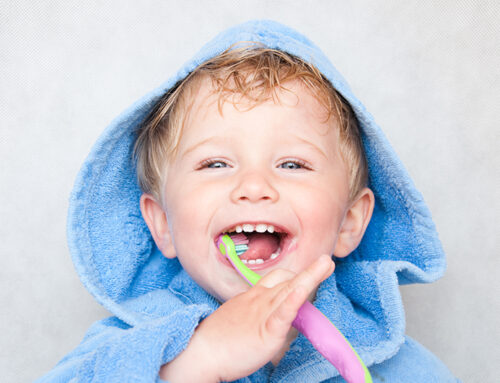 Brushing – Supporting your child while they learn!